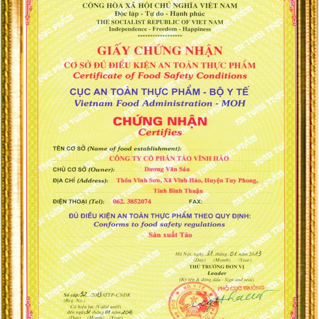 cap-lai-giay-chung-nhan-ve-sinh-an-toan-thuc-pham-co-kho-khong
